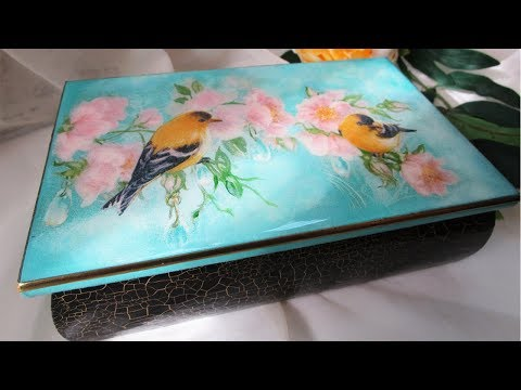 How To Paint Crackling - How to Use Epoxy Resin DIY