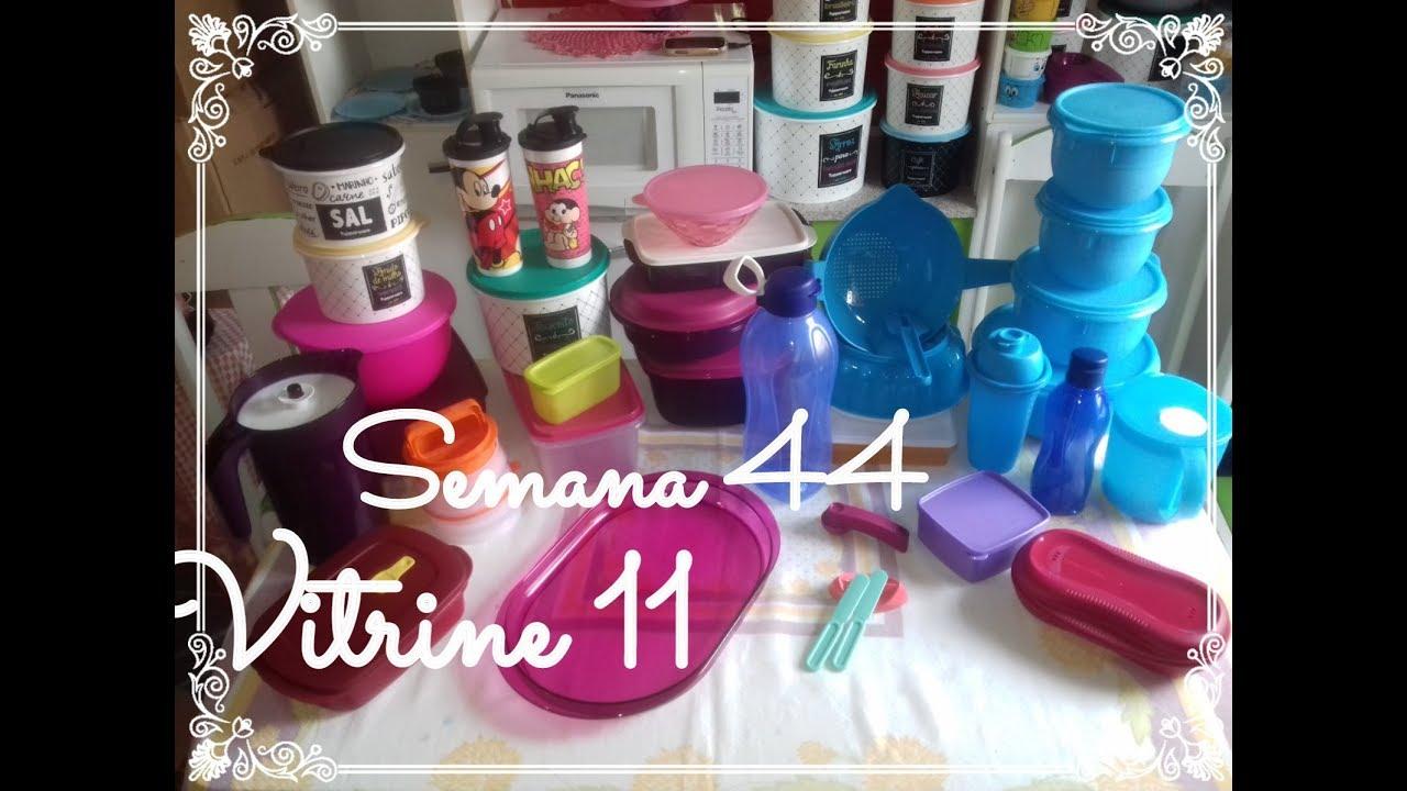 Abrindo Caixa Tupperware Semana 44 Vitrine 11 Youtube