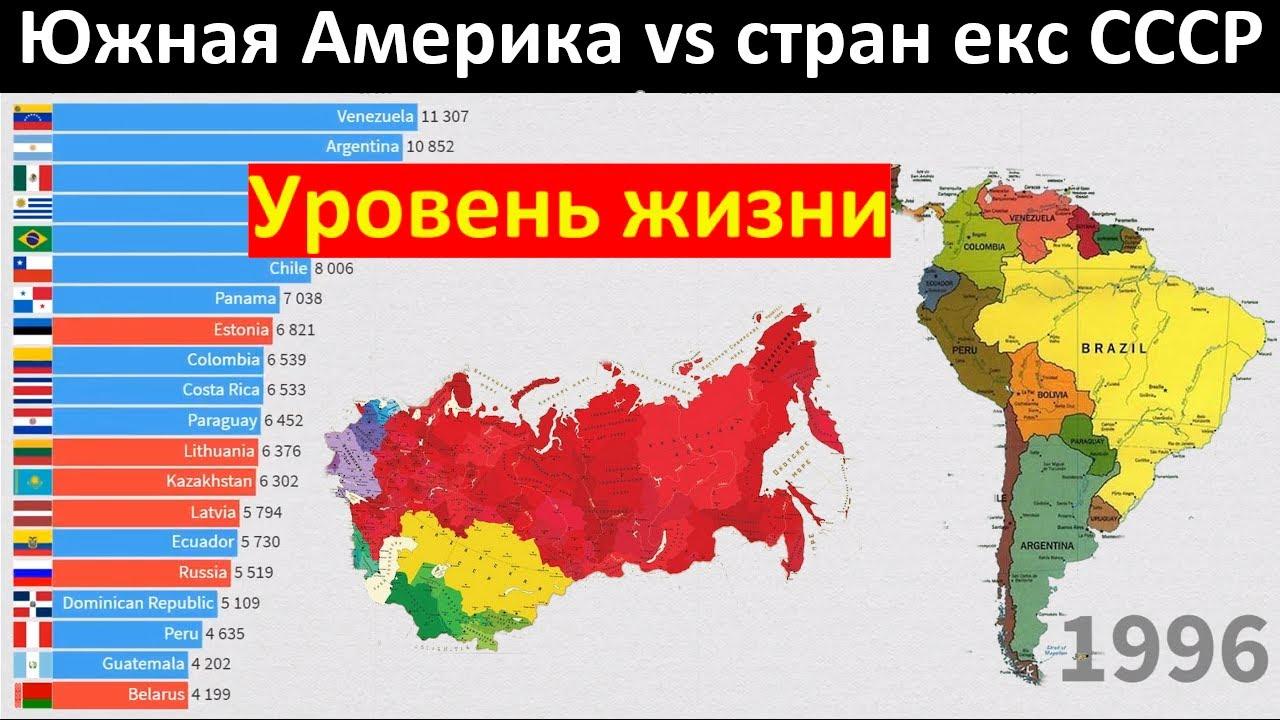 Латинская Америка против стран бывшего СССР - Уровень жизни