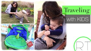 Traveling With Kids (Carry On Tips + Fun With Kids) Video
