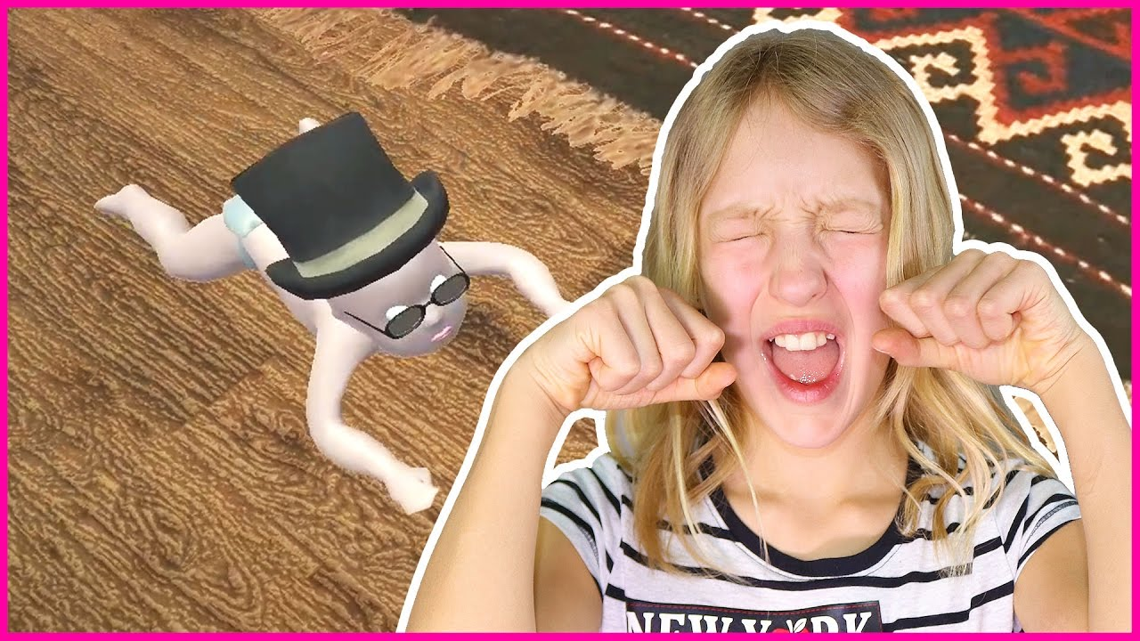 Being a BABY in Who's Your Daddy game, playing with my Daddy FREDDY