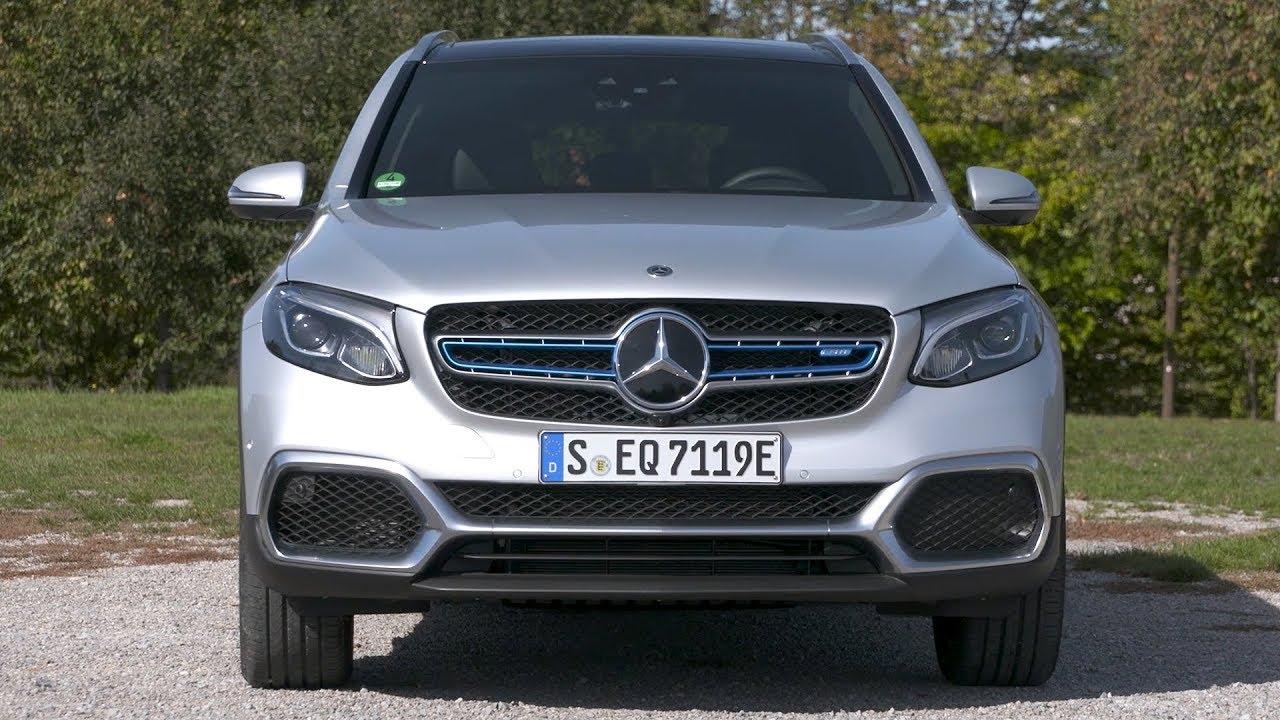 2019 Mercedes Benz Glc F Cell Hydrogen Fueled Suv Iridium Silver Driving Interior Exterior