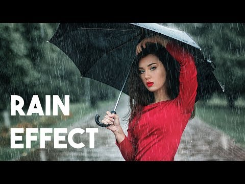Rain Effect | Photoshop Tutorial
