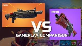 Heavy ShotGun Gameplay vs Tactical Shotgun | Best Fortnite Loadout?