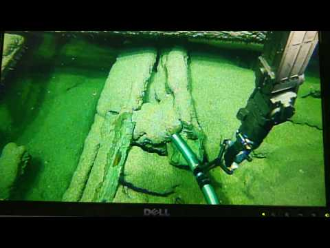 Remote maritime archaeological excavation of a Black Sea shipwreck