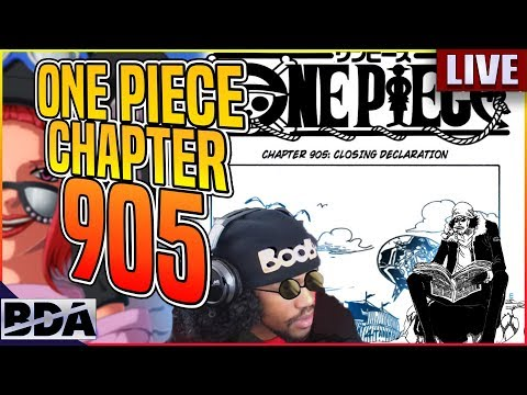 Closing Declaration:The Last L Bender - One Piece Chapter 905 Reaction Ft.Tyquan1000Finest (Parody)