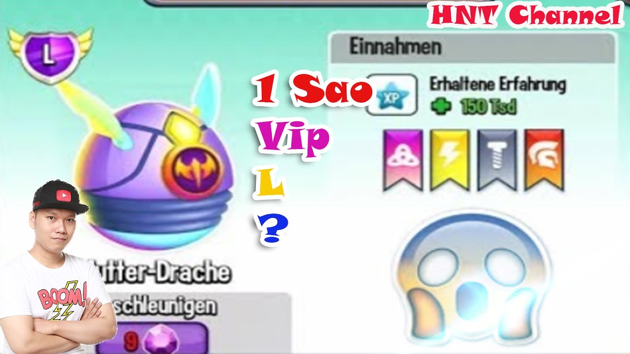 Dragon City Vua Tốc Độ 1 Sao Dragon City HNT Chơi Game Dragon City HNT Channel