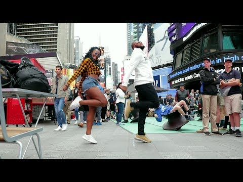 BM - ROSALINA (DANCE ROUTINE IN NYC) @artist_bm @nksogorgeous