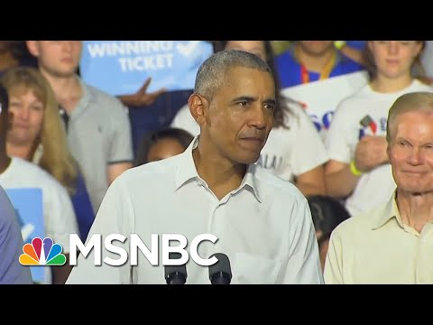Taking Trump's Lies & Fear-Mongering, Obama Delivers Closing Argument For Gillum | Deadline | MSNBC