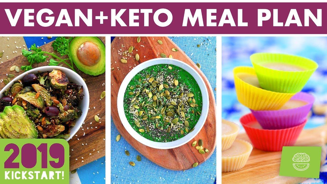 <div>Vegan Keto Meal Plan & Prep! SOY FREE! #kickstart2019</div>