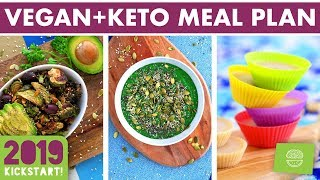 SUBSCRIBE for new episodes every Thursday! http://bit.ly/MindOverMunch ☆ This meal prep shares recipes that are vegan but suitable for the keto diet!