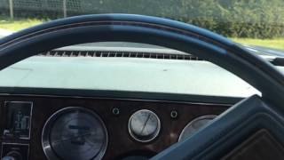 1979 Buick Electra Park Avenue driving