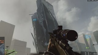 BF4 How to Bring Down Skyscaper Quick & Easy? Battlefield 4 Beta Siege of Shanghai Tutorial