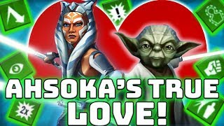 Ahsoka Tano Fulcrum + Yoda Take on Traya and Palpatine! | Star Wars: Galaxy of Heroes