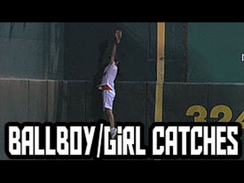 MLB: Ball-Boy/Girl Catches (HD)