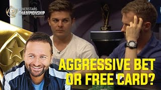 Aggressive Bet or Free Card?