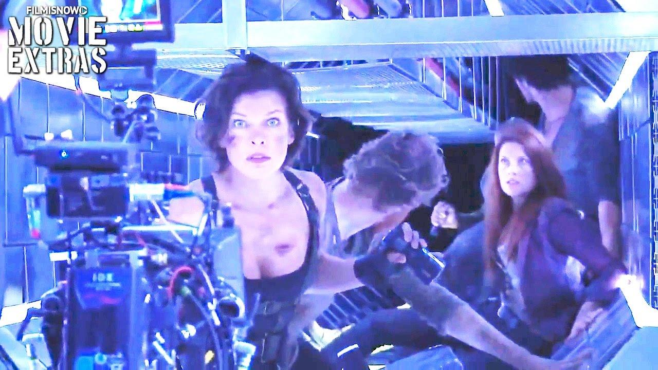 Resident Evil The Final Chapter Abigail Featurette: Resident Evil: The Final Chapter 'Explore The Hive