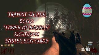 TRANZIT Easter Eggs: 'Tower of Babble' Richtofen Easter Egg Guide
