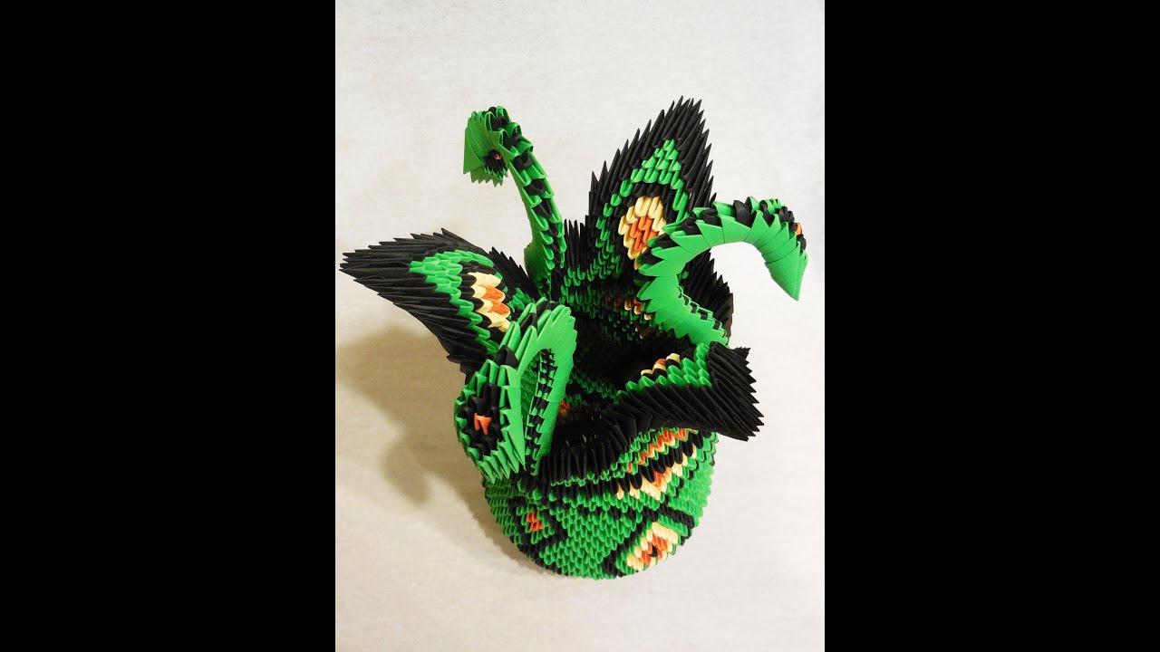 модульное оригами змей горыныч фото мастер класс земной шар, сияющие