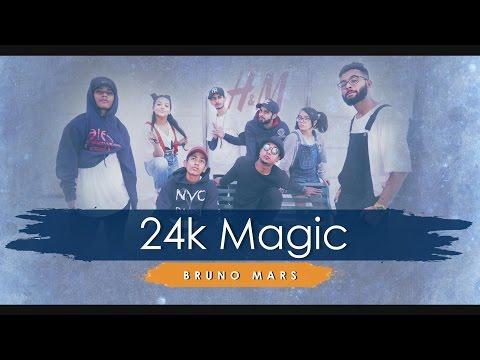 Bruno Mars - 24K Magic - Dance - Zumba fitness choreo b ...