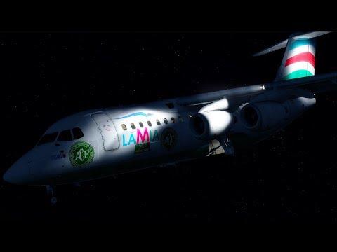 The Chapecoense Disaster - LaMia Flight 2933 - P3D