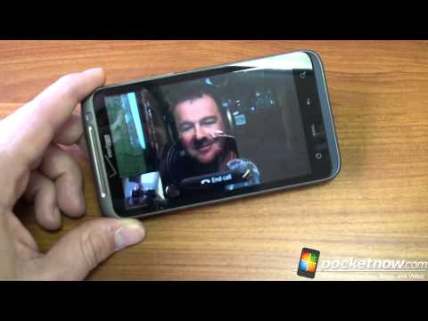 HTC Thunderbolt Skype Video Chat Demo