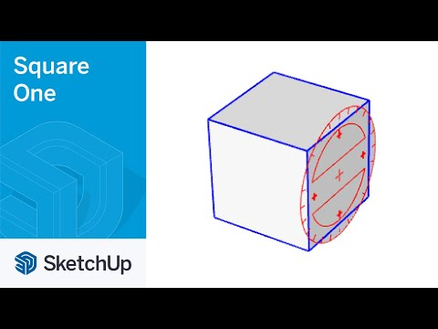 Rotate with Move Tool - SketchUp Square One