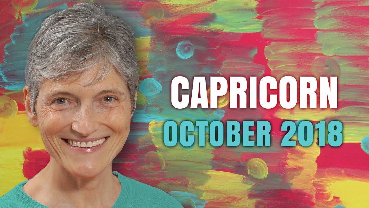 Capricorn October 2018 Astrology Horoscope - Love and Money new beginnings!