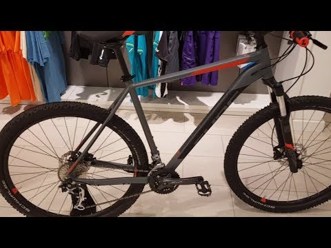 2f898101765 Cube Analog MTB Hardtail grey n red Modell 2018 - YouTube