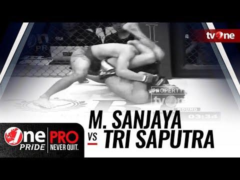 Mohammad Sanjaya Vs Tri Saputra - One Pride MMA