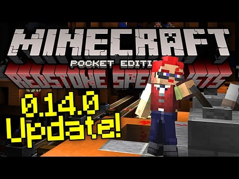 0.14.0 MOJANG REDSTONE PUZZLE MAP - Update Officially Released! - Minecraft PE (Pocket Edition)