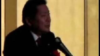 【中川秀直】1221大分「社会的排除の問題」 中川秀直 動画 17