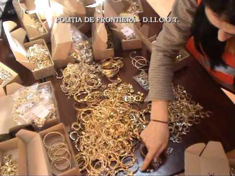 Perchezitii Caontrabandisti Cu Bijuterii Aur Din Turcia Youtube