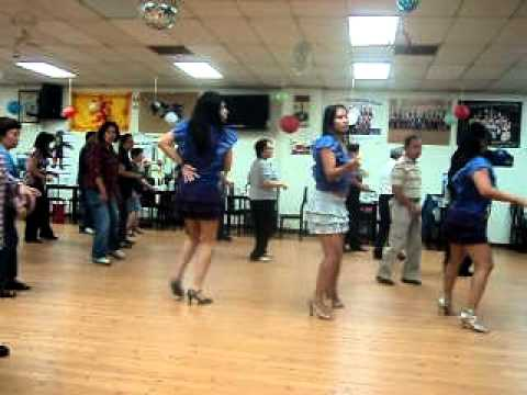 Back to the 80s Line Dance Oct 11 2011