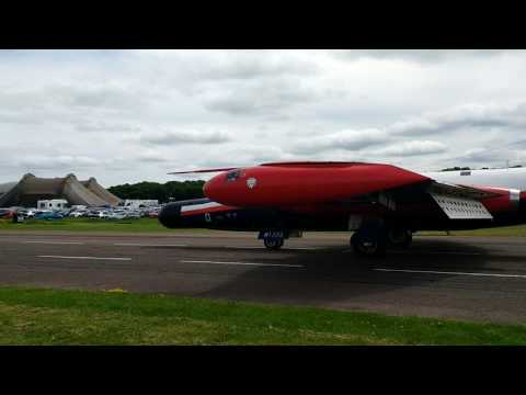 RAe Canberra at Bruntingthorpe Cold War Jets Day
