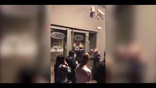Brutale Schlägerei vor Disco: Video schockt das Netz