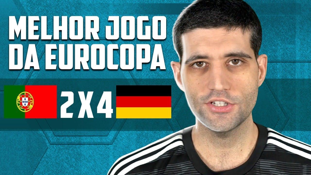 Portugal x Alemanha - O MELHOR jogo da Eurocopa