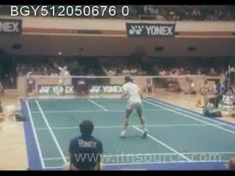 1981 World Games Santa Clara Badminton - Chen Chang Jie vs Morten Frost
