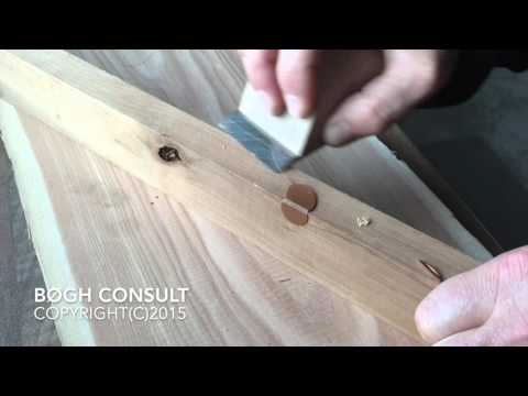 Knot Filler - Edge repair with knot filler
