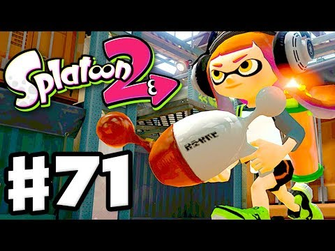 Splatoon 2 - Gameplay Walkthrough Part 71 - Getting to S Rank in Tower Control! (Nintendo Switch)