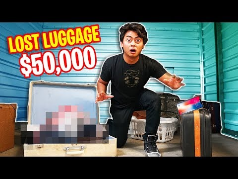 I Found PROJECT ZORGO's $50,000 Hidden LUGGAGE!