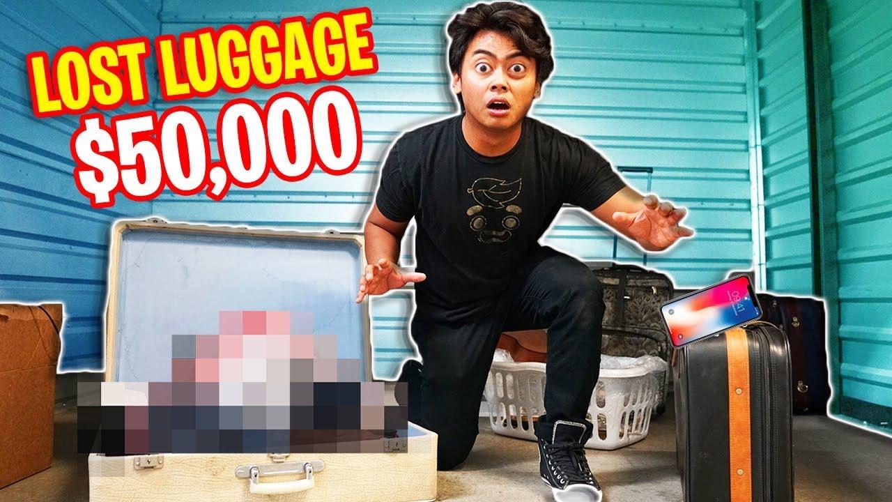 I Found PROJECT ZORGO's $50,000 Hidden LUGGAGE!