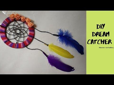 Dream catcher | How To Make A Dream Catcher Tutorial | DIY Super Easy Way to Make a Dreamcatcher