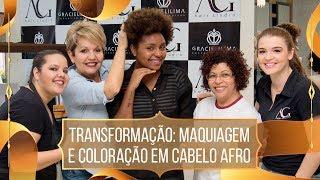 Transformação: CABELO AFRO