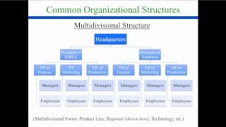 Organizational Design: Structure