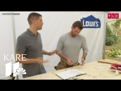 Trading Spaces star Brett Tutor at Home + Remodeling Show