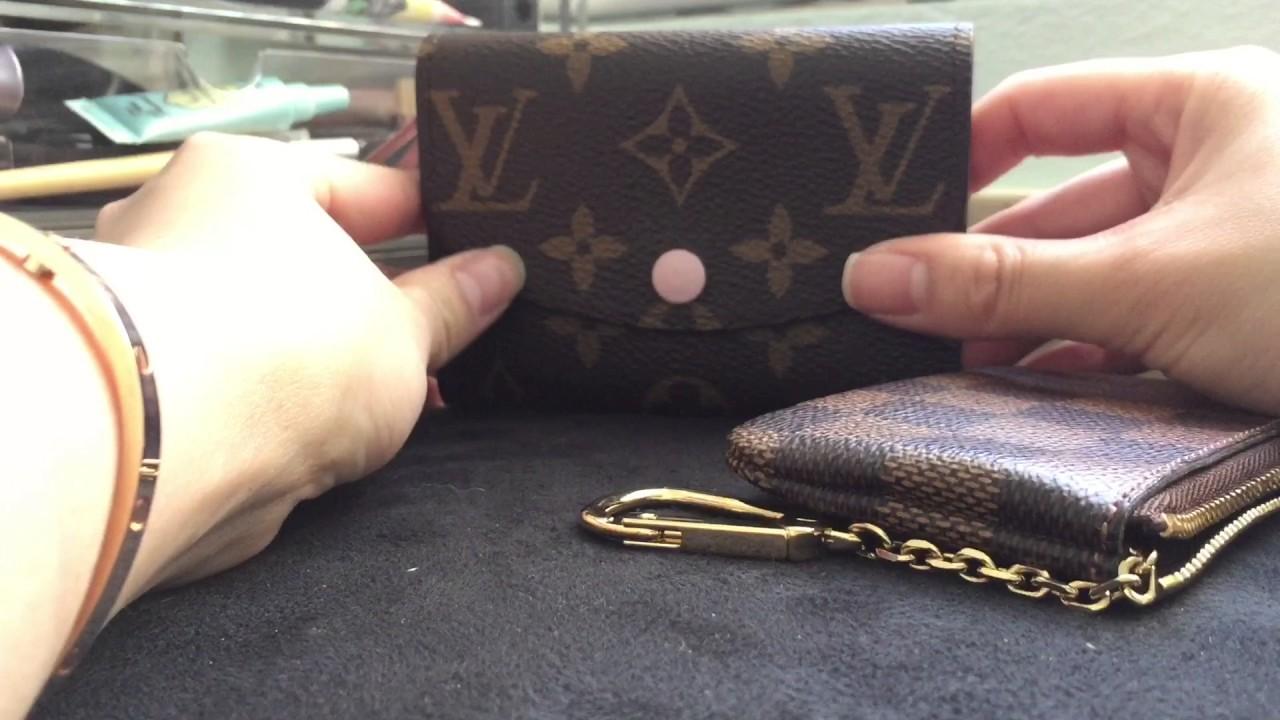 a54e292e4458 Louis Vuitton Wallets - Rosalie, Key Pouch, & Emilie - YouTube