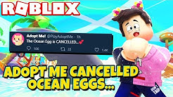 OCEAN EGGS Got CANCELLED by Adopt Me! (Roblox)