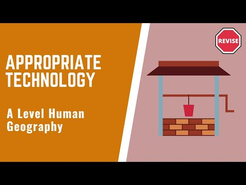 As Human Geography - Appropriate Technology