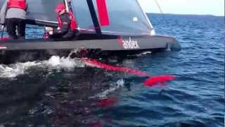 SpeedDream flies its keel